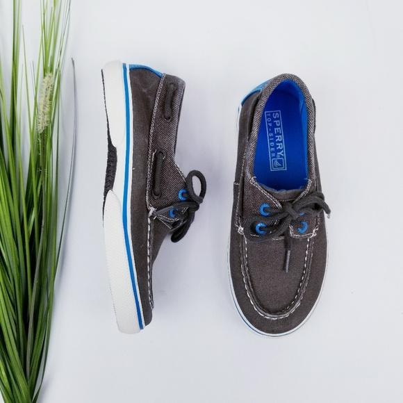 Sperry Other - Sperry Kid's Halyard Sneaker  Sz 13.5M  EUC